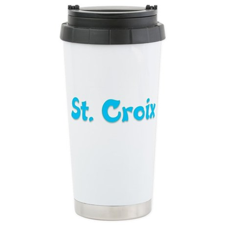 St. Croix.png Stainless Steel Travel Mug