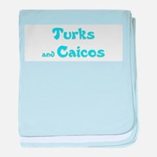 Turks and Caicos.png baby blanket
