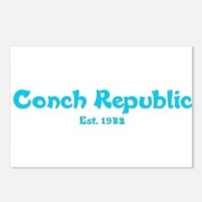 Conch Republic.png Postcards (Package of 8)