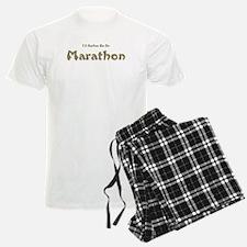 Id Rather Be...Marathon.png Pajamas