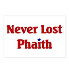 Never Lost Phaith.png Postcards (Package of 8)