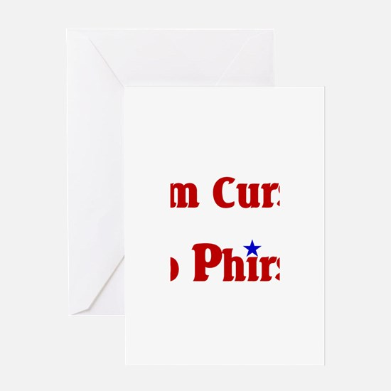 Cursed To Phirst.png Greeting Card