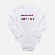 Math19.png Long Sleeve Infant Bodysuit