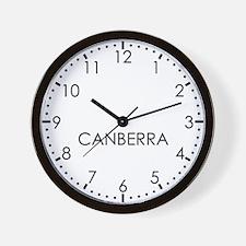 CANBERRA Modern Newsroom Wall Clock