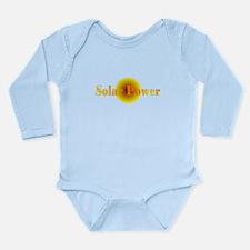 Solar Power.png Long Sleeve Infant Bodysuit