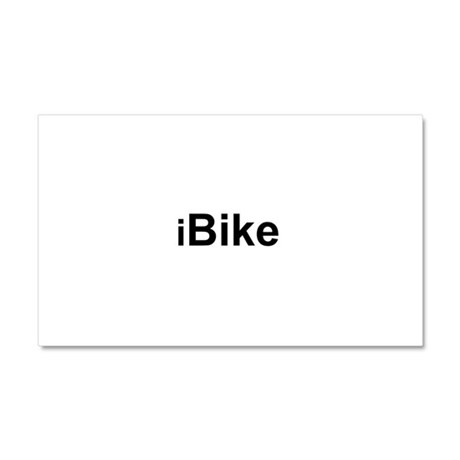 iBike.png Car Magnet 20 x 12