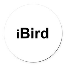 iBird.png Round Car Magnet