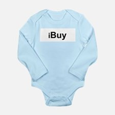 iBuy.png Long Sleeve Infant Bodysuit