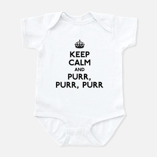 Keep Calm and Purr Purr Purr Infant Bodysuit