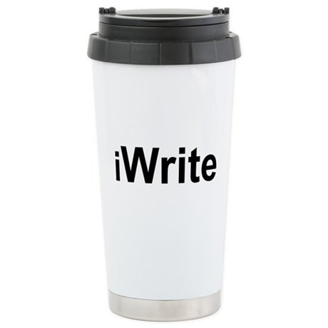 iWrite.png Stainless Steel Travel Mug
