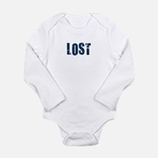 Lost.png Long Sleeve Infant Bodysuit