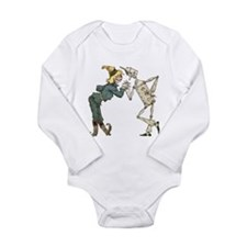 Oz Scarecrow and Tin Woodman Long Sleeve Infant Bo