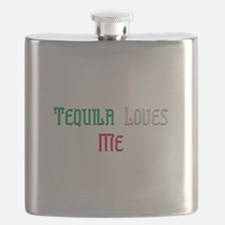 Tequila Loves Me.png Flask