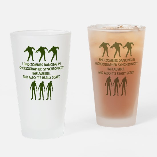 Big Bang Zombies Drinking Glass