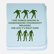 Big Bang Zombies baby blanket