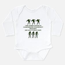 Big Bang Zombies Long Sleeve Infant Bodysuit