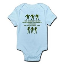 Big Bang Zombies Infant Bodysuit