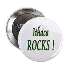 "Ithaca Rocks ! 2.25"" Button (100 pack)"