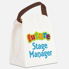 Future Stage Manager Canvas Lunch Bag