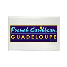 Guadeloupe Rectangle Magnet