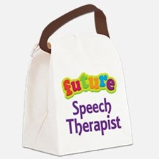 Future Speech Therapist Canvas Lunch Bag