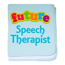 Future Speech Therapist baby blanket