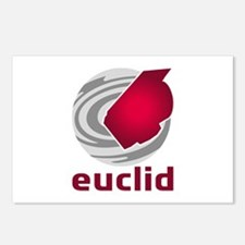 Euclid Space Telescope Postcards (Package of 8)