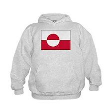 Flag of Greenland 1 Hoodie