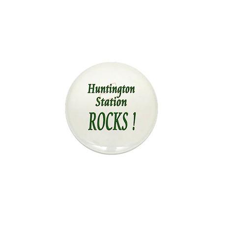 Huntington Station Rocks ! Mini Button (100 pack)