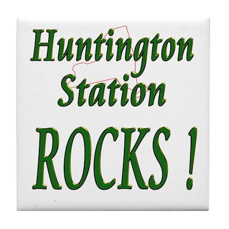 Huntington Station Rocks ! Tile Coaster