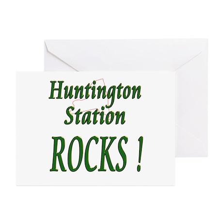 Huntington Station Rocks ! Greeting Cards (Package
