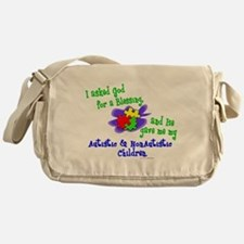 Cute Autism2014 Messenger Bag