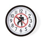No Gas Wall Clock
