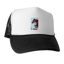 Jumping Horse Trucker Hat