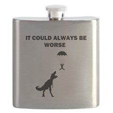 It Could Always Be Worse Flask