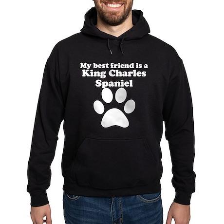 King Charles Spaniel Best Friend Hoodie (dark)