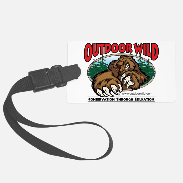 Outdoor Wild Gear Luggage Tag