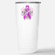 I Wear Pink for my Wife Travel Mug