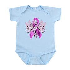 I Wear Pink for my Sister Infant Bodysuit