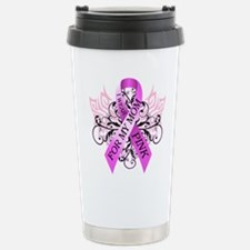I Wear Pink for my Mom Stainless Steel Travel Mug