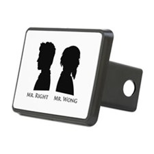 Mr. Right Vs. Mr. Wong Hitch Cover