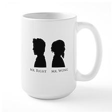 Mr. Right Vs. Mr. Wong Mug