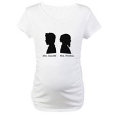 Mr. Right Vs. Mr. Wong Shirt