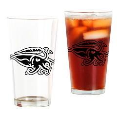 Cuttlefish Sigil Drinking Glass