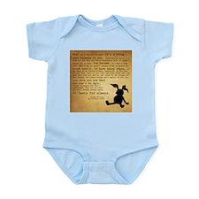 Velveteen Rabbit Print Infant Bodysuit