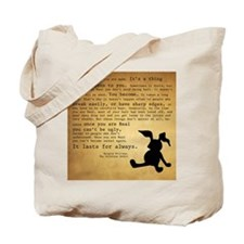 Velveteen Rabbit Print Tote Bag