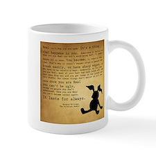 Velveteen Rabbit Print Mug