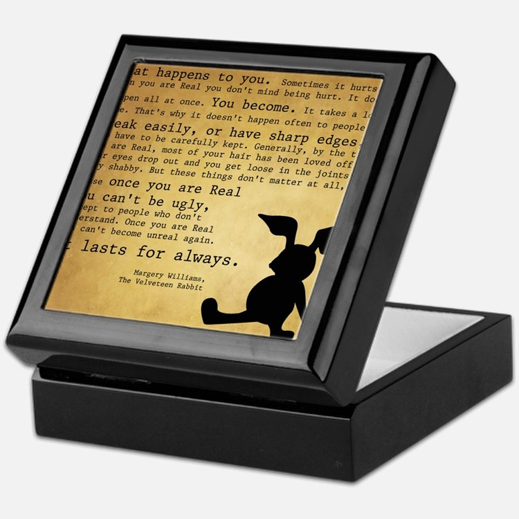 Velveteen Rabbit Print Keepsake Box