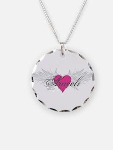 My Sweet Angel Araceli Necklace Circle Charm