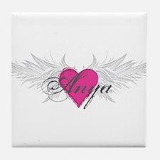 My Sweet Angel Anya Tile Coaster